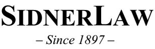 SidnerLaw ~Since 1897 ~